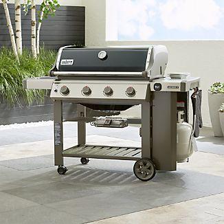 Weber Genesis II E410 Black Gas Grill