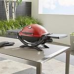 Weber ® Q ® 1200 ™ Red Liquid Propane Gas Grill