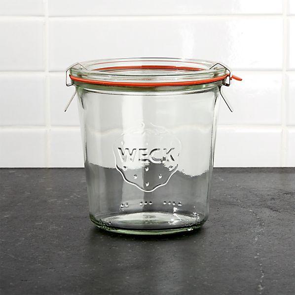 Weck 18 oz. Canning Jar