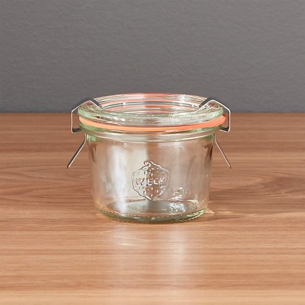 Weck 2.7 oz. Canning Jar