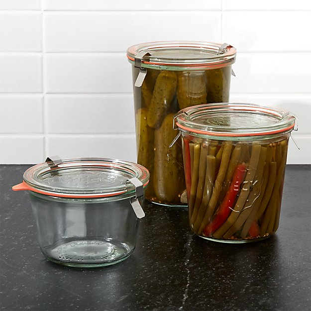Weck Canning Jars - Image 1 of 13