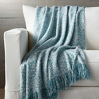 Blankets Throws Cotton Wool And Alpaca Crate And Barrel
