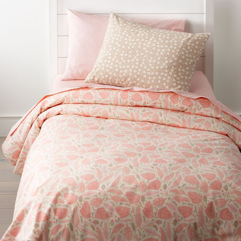 Forest Themed Kids Bedding Pink Crate And Barrel