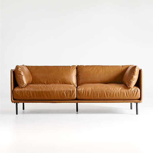 Wells Leather Sofa