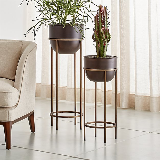 Wesley Metal Plant Stands - Image 1 of 3