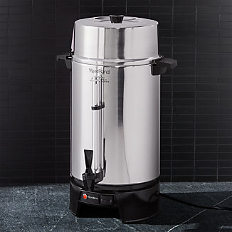 West Bend 100-Cup Aluminum Coffee Urn