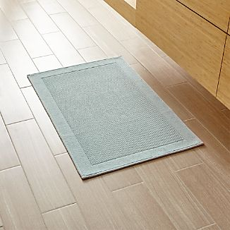 Westport Spa Blue Bath Rug