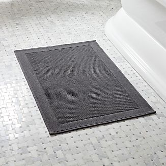 Westport Grey Bath Rug