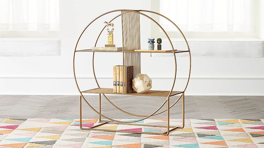 Wheelhouse Round Bookcase Reviews Crate And Barrel