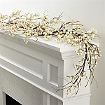 White Ilex Berry Garland