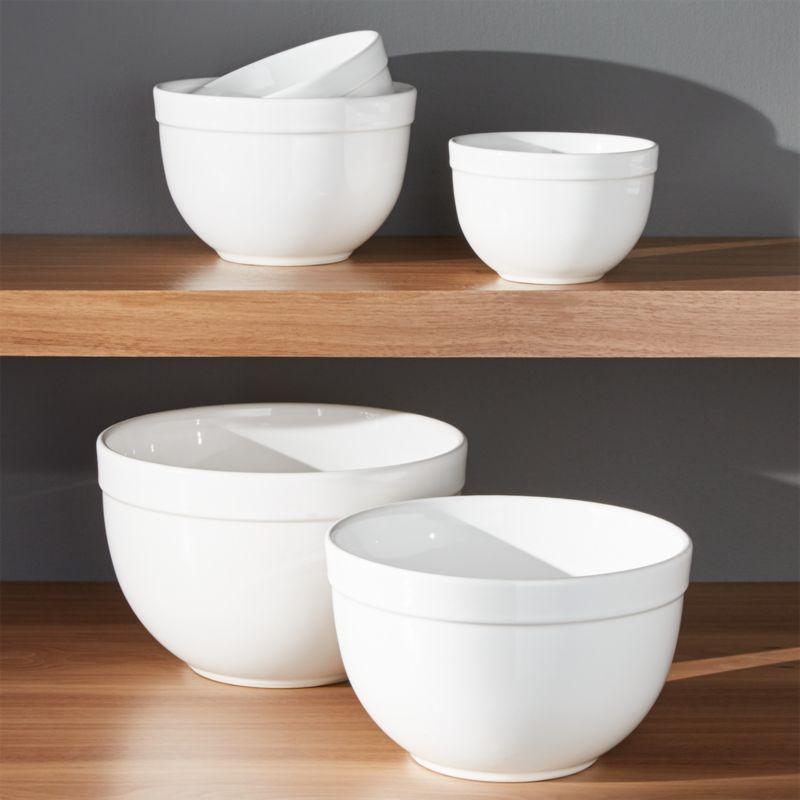 """5-Piece 5.5""""-9.75"""" Nesting Mixing Bowl Set"""