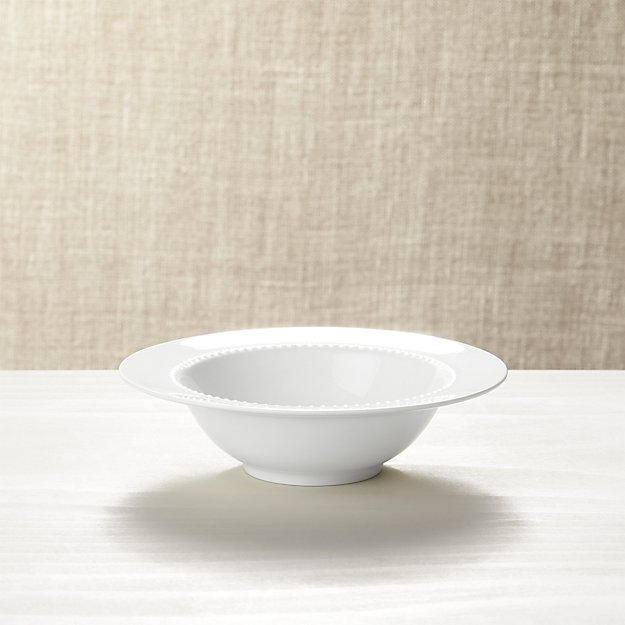 White Pearl Bowl - Image 1 of 2