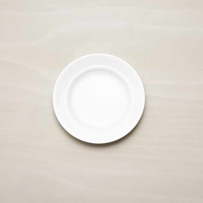 White Pearl Bread And Butter Plate Reviews Crate And