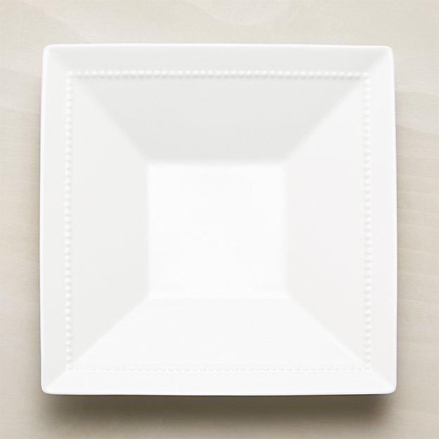 White Pearl Square Server - Image 1 of 2
