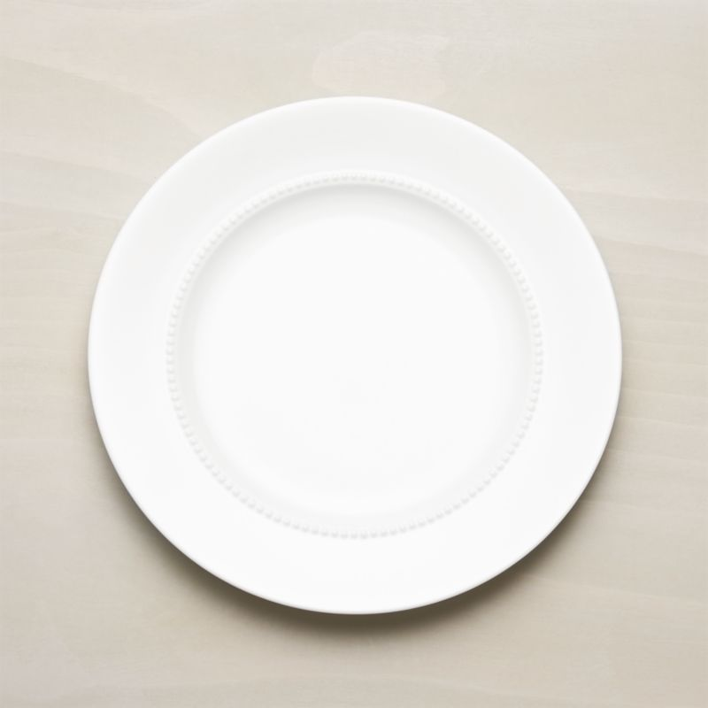 White Pearl Dinner Plate Reviews Crate And Barrel