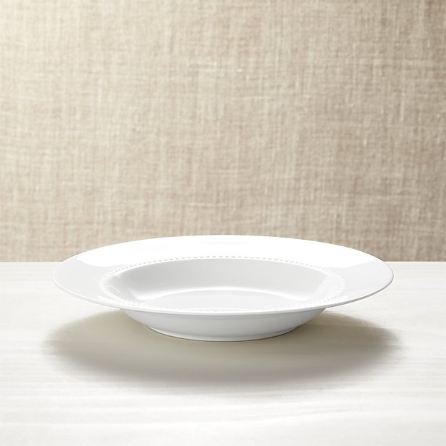 White Pearl Low Bowl - Image 1 of 3