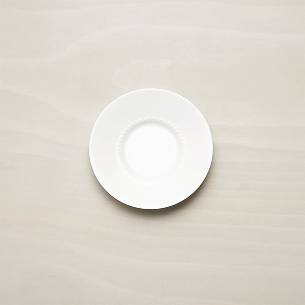 White Pearl Saucer - Image 1 of 3
