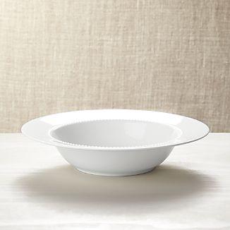 White Pearl Serving Bowl
