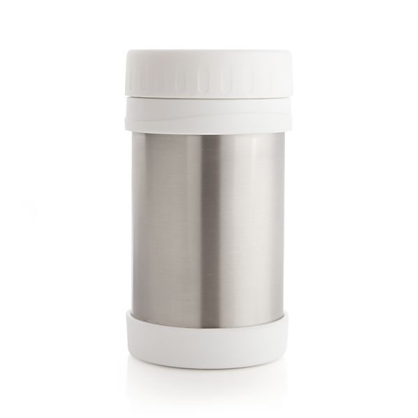 White 16 oz. Stainless-Steel Thermal Container