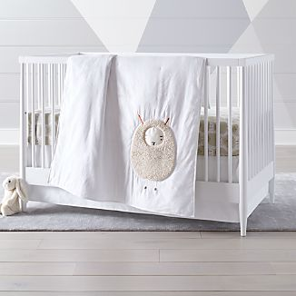 Sheep Crib Bedding 3 Piece Set