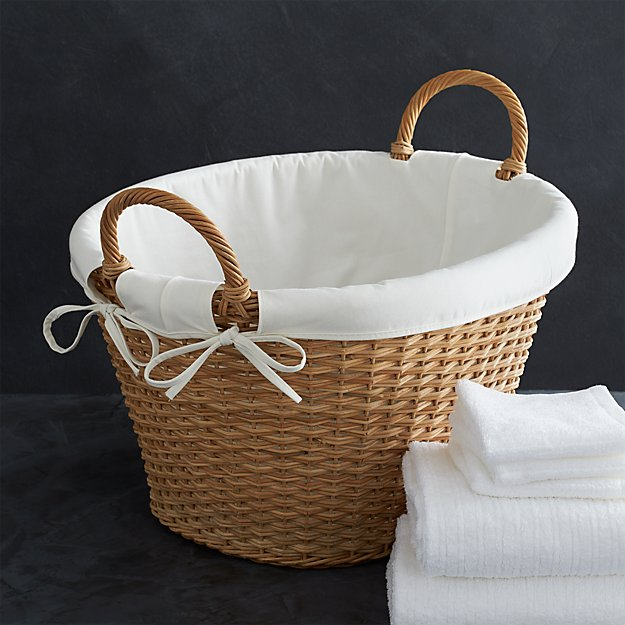 Laundry Basket Liner Reviews Crate And Barrel