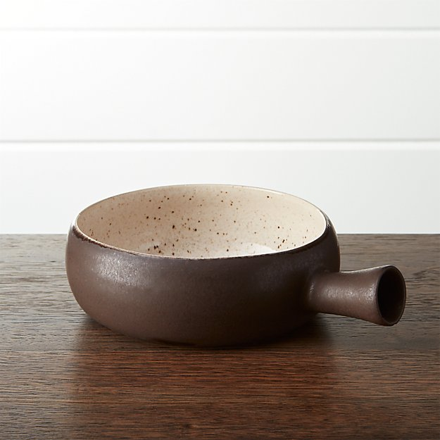 Wilder Individual Bowl With Handle Crate And Barrel