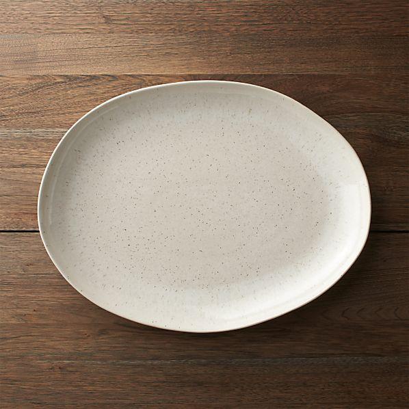 Wilder Oval Platter