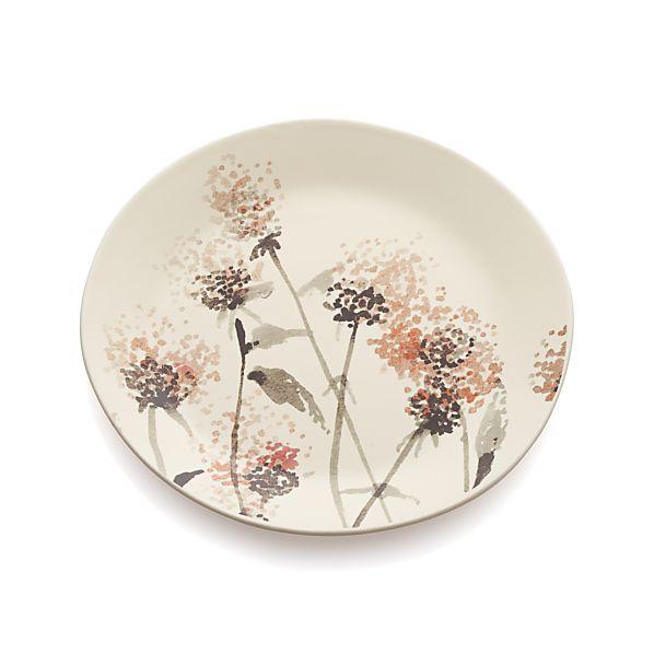 Wildflower Milkweed Plate