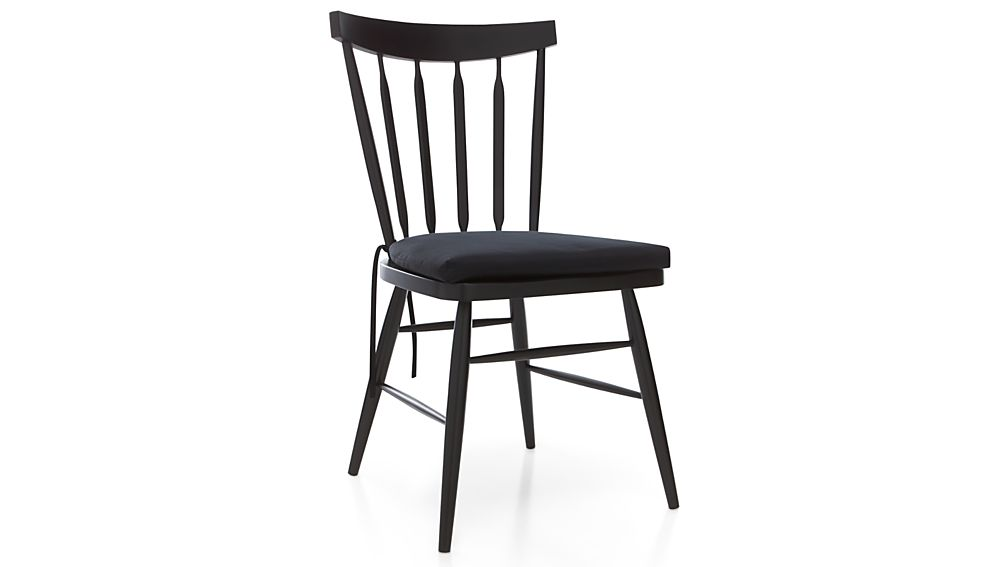 Willa Black Wood Dining Chair