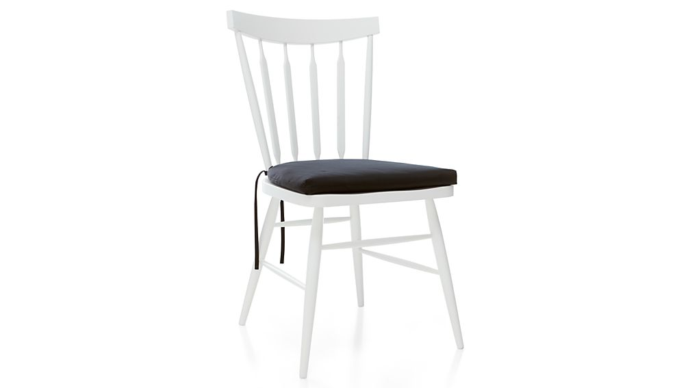 Willa White Wood Dining Chair