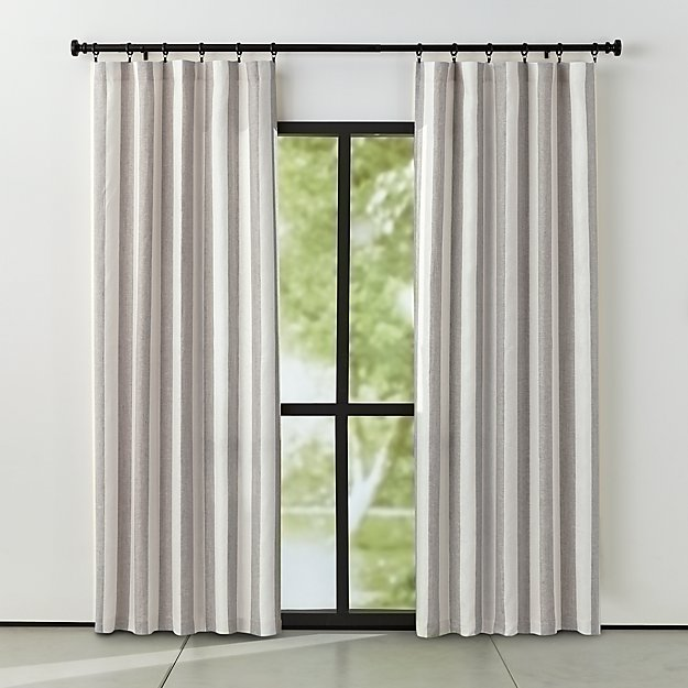curtains horizontal window contemporary rugby garage room shade with striped shed living curtain stripe bold