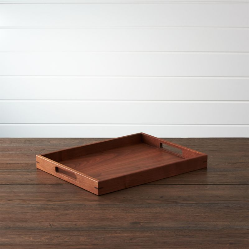 Willoughby Small Tray Reviews Crate And Barrel