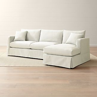Sectional Slipcovers Crate And Barrel