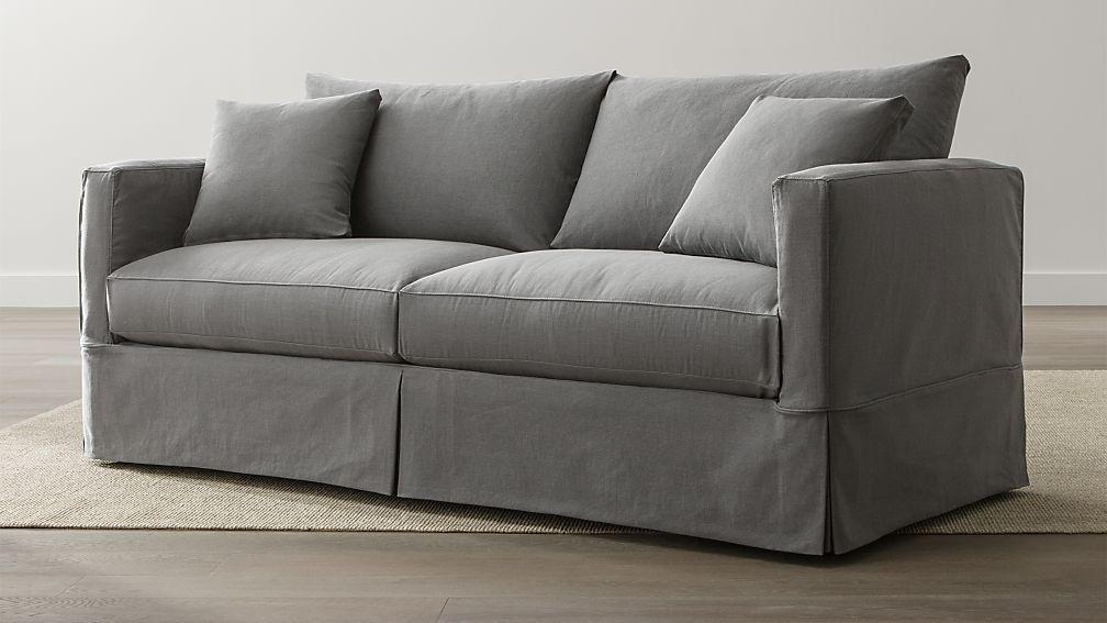 Willow Grey Sofa Crate and Barrel
