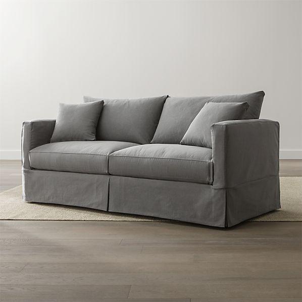 Willow Grey Queen Sleeper Sofa