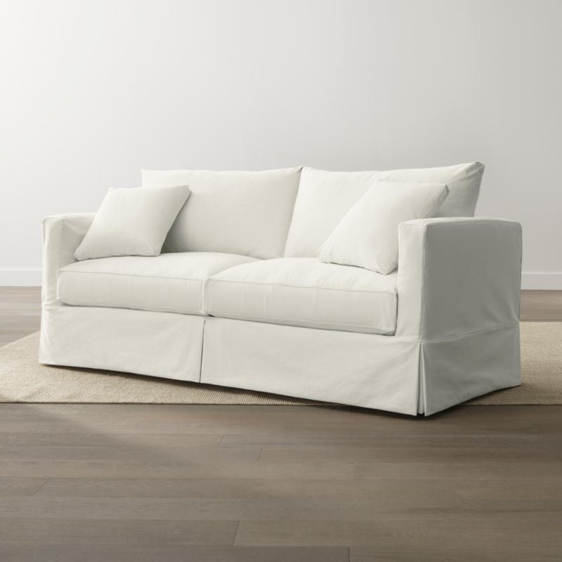 Willow Modern Slipcovered Queen Sleeper Sofa