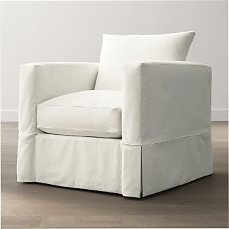 Ordinaire Slipcover Only For Willow Modern Slipcovered Chair