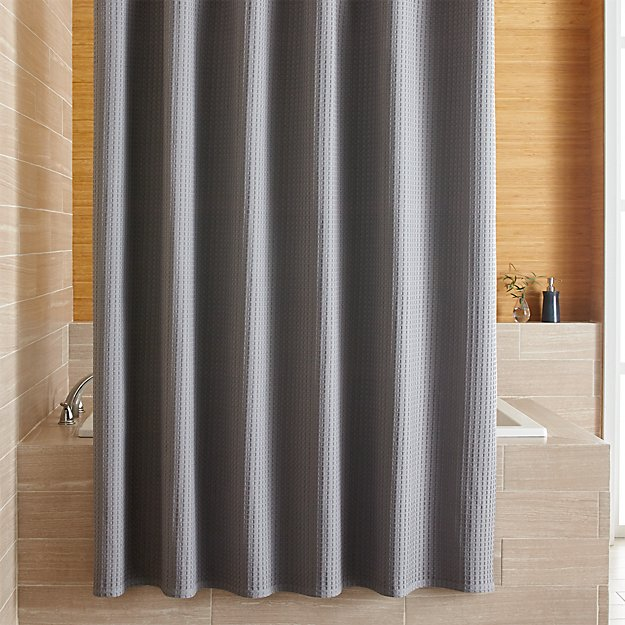 Shower Curtains crate and barrel shower curtains : Willow Grey Shower Curtain | Crate and Barrel