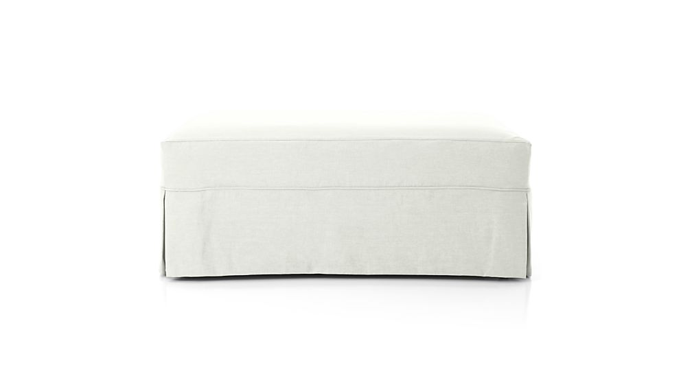 Slipcover Only for Willow Ottoman and a Half with Casters
