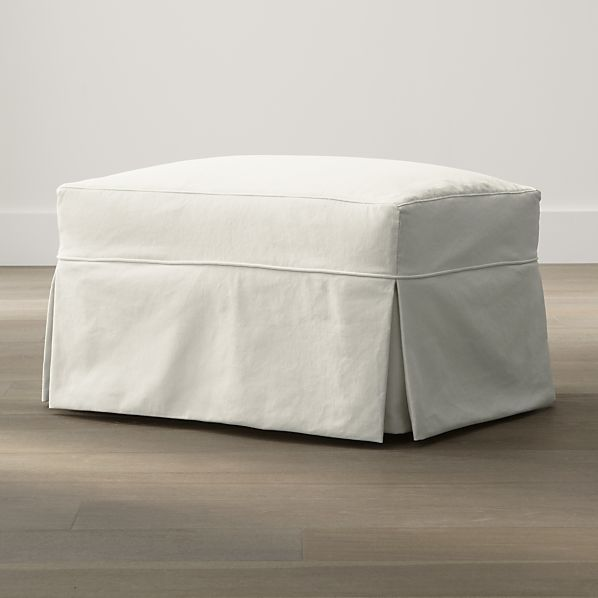 Slipcover Only for Willow Ottoman