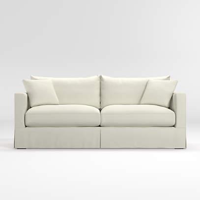 For Willow Modern Slipcovered Sofa, Slipcover Sofa Furniture