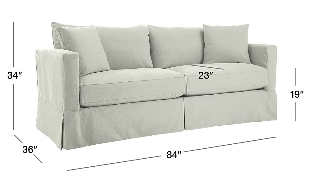 Willow White Sleeper Couch