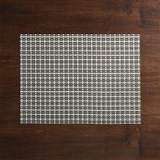7f43e9a62e Chilewich ® Windowpane Grey Vinyl Placemat