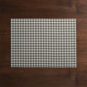 Chilewich ® Windowpane Grey Vinyl Placemat