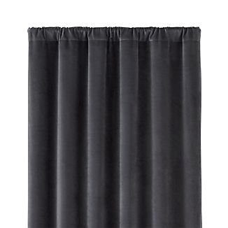"Windsor Dark Grey 48""x108"" Curtain Panel"