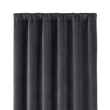 Velvet Curtains Crate And Barrel