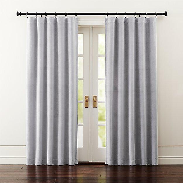 Windsor Light Grey Curtains