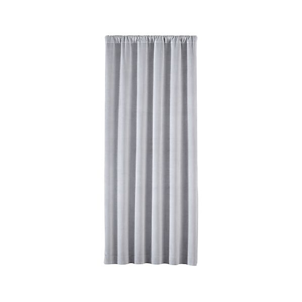 WindsorLightGreyCurtainPanel48x84SingleF16