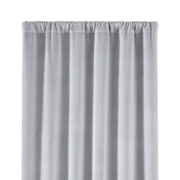 "Windsor 48""x84"" Light Grey Curtain Panel"