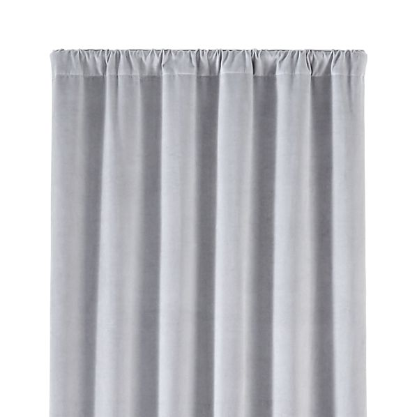 WindsorLightGreyCurtainPanel48x84SingleMdF16